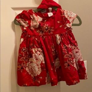 Baby Gap Holiday Dress and Bloomers / 6-12 months